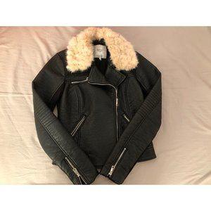 ZARA leather biker jacket EXCELLENT CONDITION